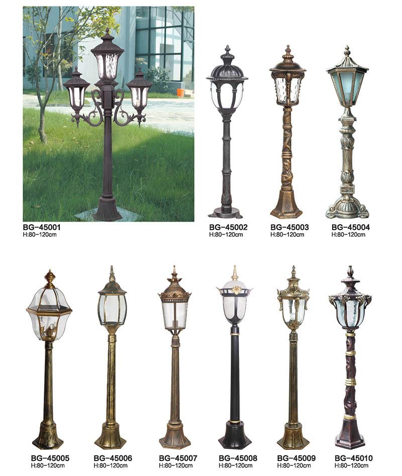 铸铝欧式草坪灯