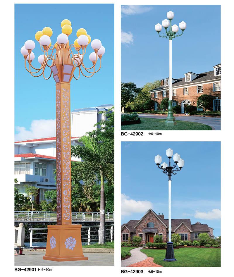 市政广场道路景观中华灯