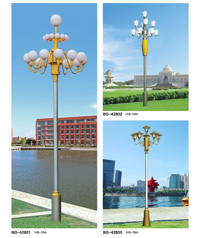 12叉13火现代简约景观LED中华灯
