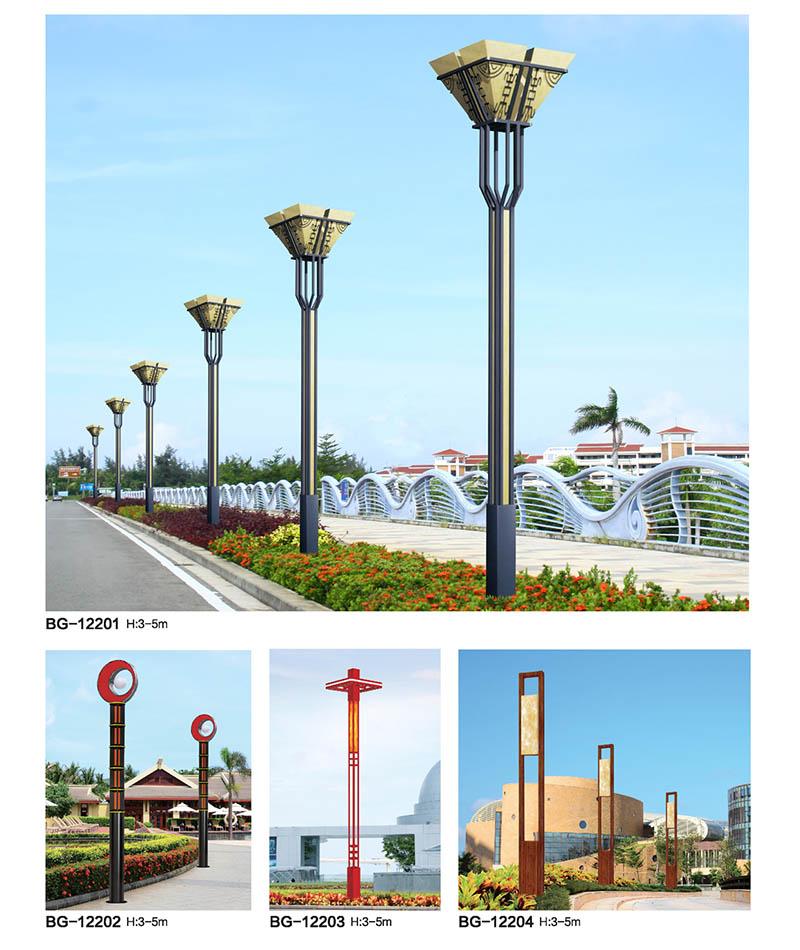 QDJGD-BG122方柱形仿云石LED景观灯