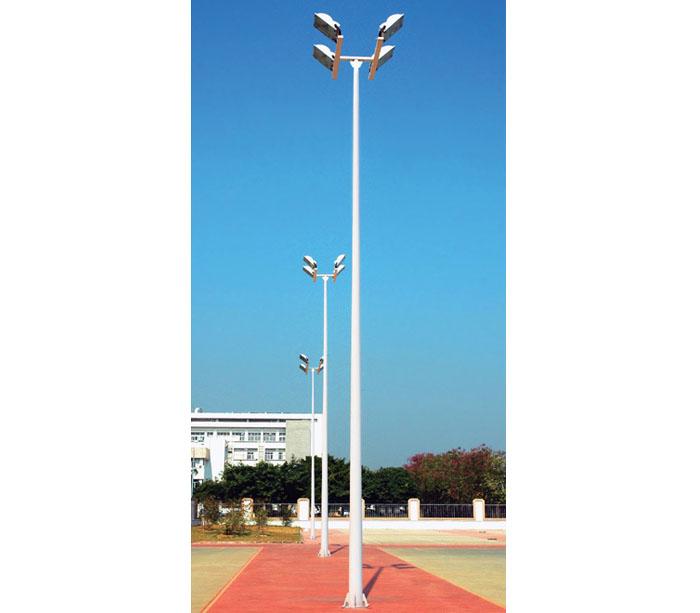 6米-10米双向四头球场照明灯杆