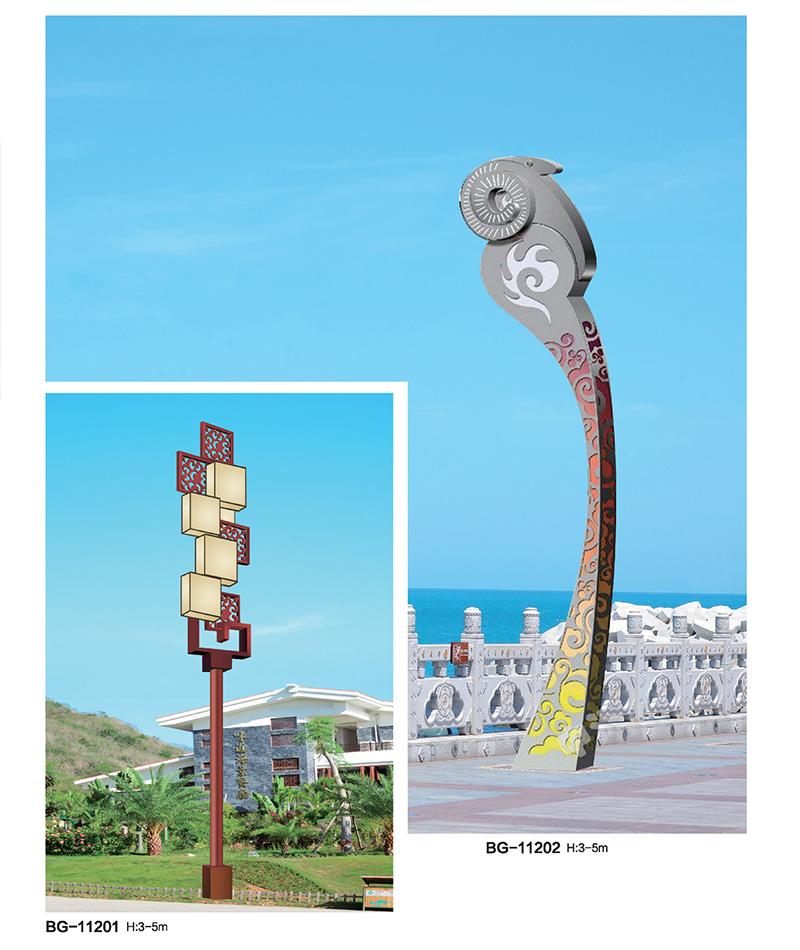 艺术造型城市标志性LED景观灯QDJGD-BG112