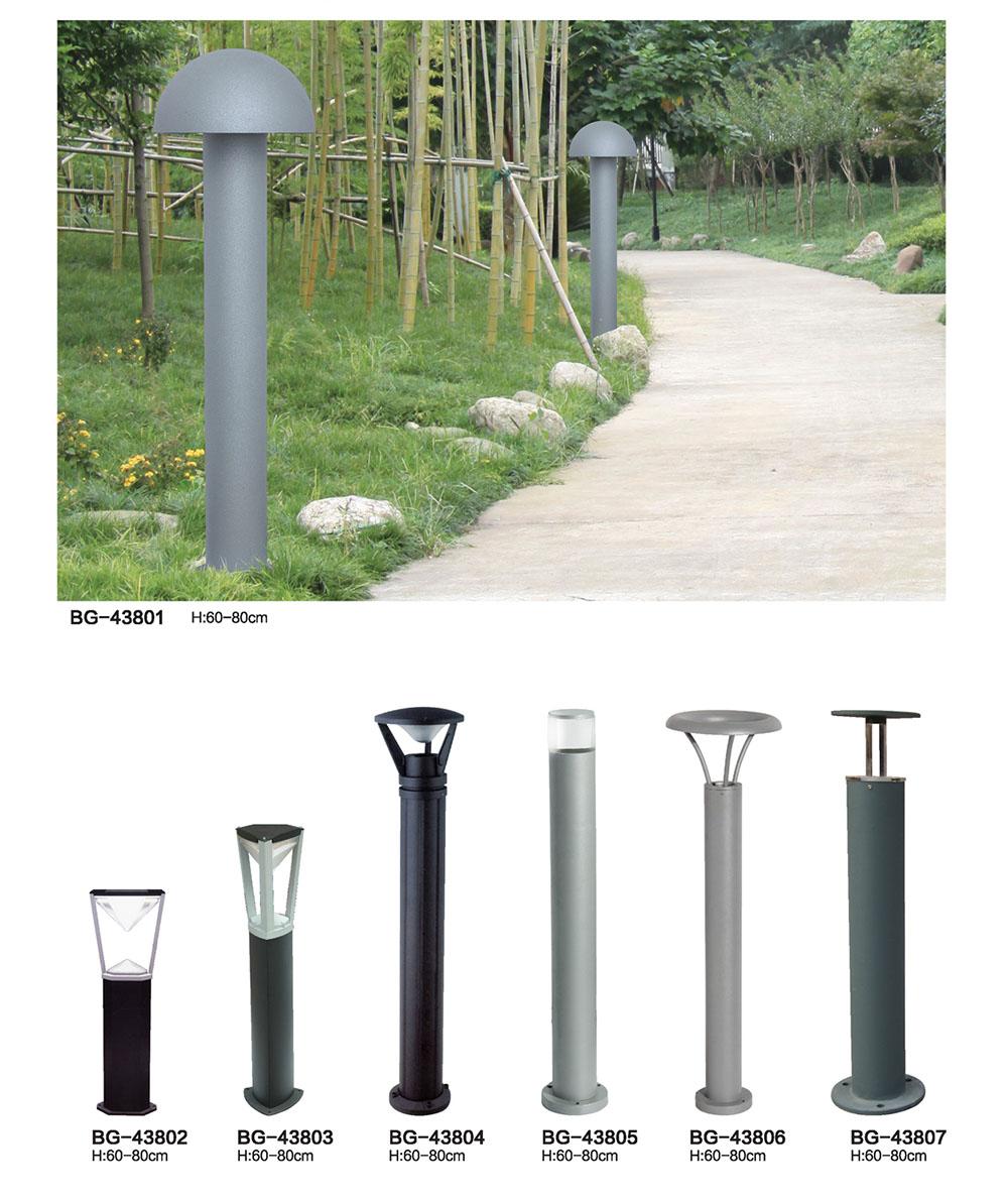 60cm-80cm广场\小区现代简洁铝型材LED草坪灯图片