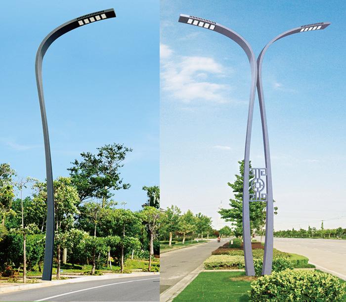 6米-12米异性现代景观LED路灯杆