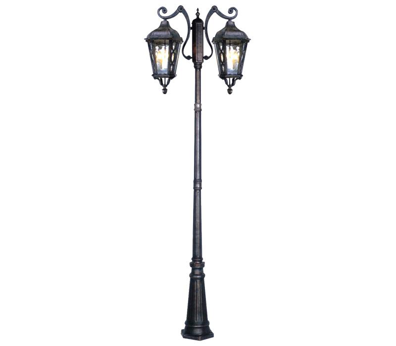 2.3米虎爪八角压铸铝庭院灯