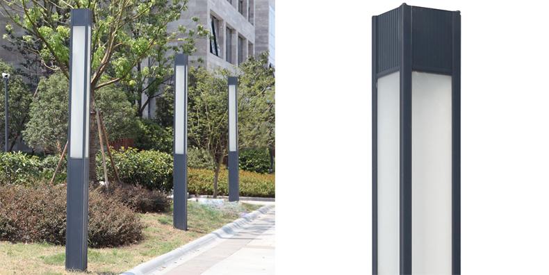室外方柱子裝飾效果圖