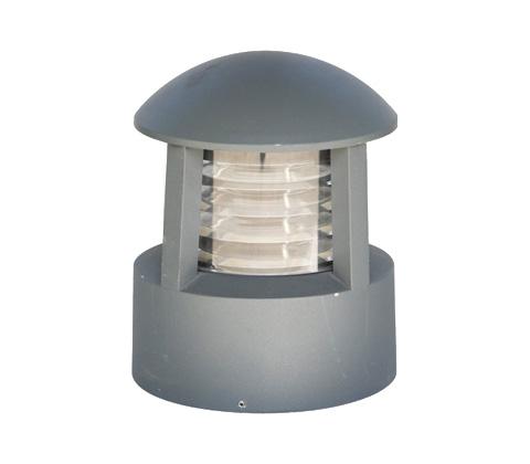 东莞七度照明QDCPD-YZ003铸铝圆顶矮柱草坪灯