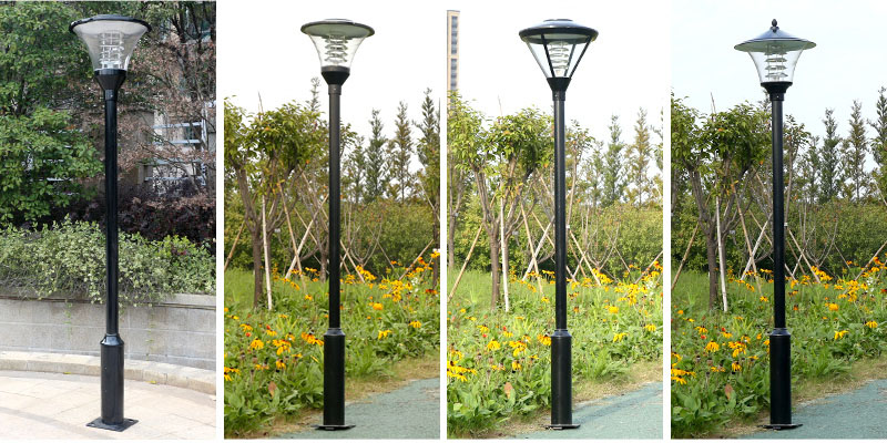 常规单头小区庭院灯图片款式